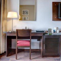 Отель Treebo Tryst Amber Стандартный номер с двуспальной кроватью фото 11