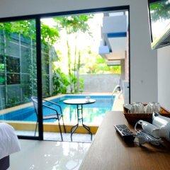 Отель The Umbrella House 3* Номер Делюкс с различными типами кроватей фото 2