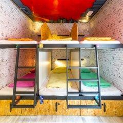 Chillout Hostel Zagreb Кровать в общем номере с двухъярусной кроватью фото 16