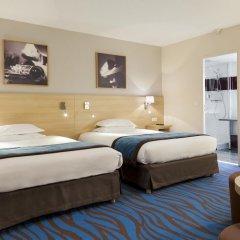 Отель Mercure Paris La Villette 4* Стандартный номер с различными типами кроватей фото 3