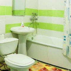 Гостиница Domumetro na Kahovskoy в Москве 7 отзывов об отеле, цены и фото номеров - забронировать гостиницу Domumetro na Kahovskoy онлайн Москва ванная