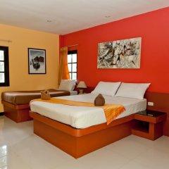 Отель Fullmoon Beach Resort 3* Стандартный номер с разными типами кроватей фото 9