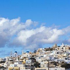 Art Hotel Santorini 4* Люкс с различными типами кроватей фото 9