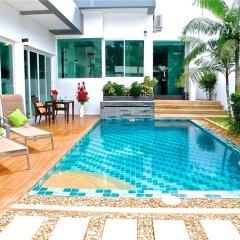 Отель CUBE 3 bedrooms Villa бассейн фото 2