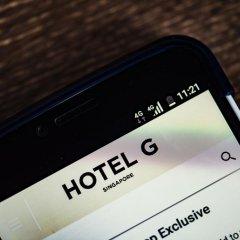 Hotel G Singapore 4* Номер категории Премиум с различными типами кроватей фото 5