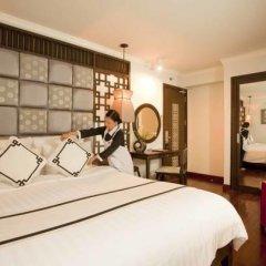 Church Boutique Hotel Hang Trong 3* Люкс разные типы кроватей фото 4