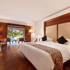 Nusa Dua Beach Hotel & Spa 4* Номер Премьер с двуспальной кроватью фото 2
