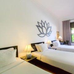 Отель Hoi An Trails Resort 4* Улучшенный семейный номер с различными типами кроватей фото 2