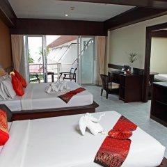 Samui First House Hotel 3* Стандартный семейный номер с различными типами кроватей фото 2
