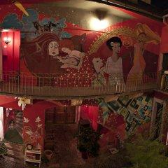 Santico Art Hostel And Guesthouse Стандартный семейный номер фото 8