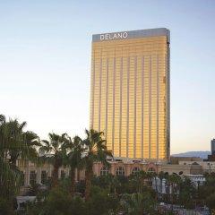 Отель Delano Las Vegas at Mandalay Bay вид на фасад