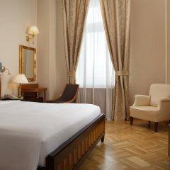 Гостиница Hilton Москва Ленинградская 5* Представительский люкс с различными типами кроватей фото 13