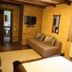 Гостиница Лесная Усадьба Стандартный номер двуспальная кровать