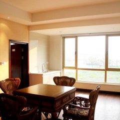 Отель Manhao Guesthouse Suzhou Xishan в номере