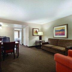Embassy Suites Hotel Milpitas-Silicon Valley 3* Стандартный номер с различными типами кроватей фото 4
