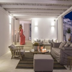 Livin Mykonos Hotel интерьер отеля