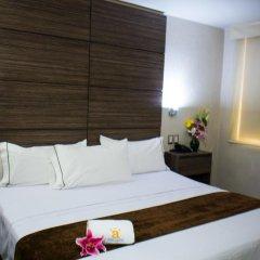 Hotel Expo Abastos 3* Стандартный номер с разными типами кроватей фото 7