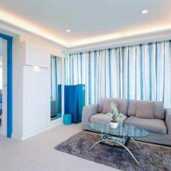 Отель Rocco Huahin Condominium Люкс с различными типами кроватей фото 15