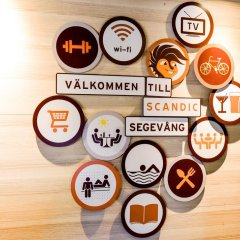 Отель Scandic Segevång Швеция, Мальме - отзывы, цены и фото номеров - забронировать отель Scandic Segevång онлайн интерьер отеля фото 2