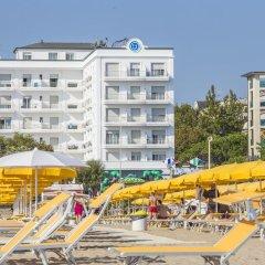 Hotel Continental Rimini Римини пляж фото 2
