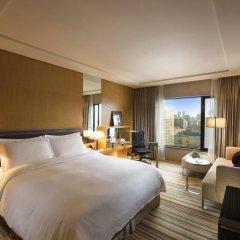 Отель Hilton Beijing 4* Номер Делюкс с различными типами кроватей фото 2