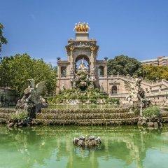 Апартаменты Habitat Apartments Bruc Барселона приотельная территория