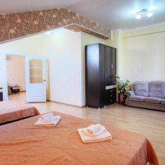 Гостиница Континент Анапа комната для гостей фото 3