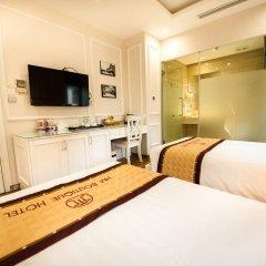 Hanoi HM Boutique Hotel 3* Представительский номер с различными типами кроватей фото 3