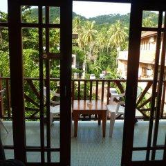 Отель Sun Smile Lodge Koh Tao Таиланд, Остров Тау - отзывы, цены и фото номеров - забронировать отель Sun Smile Lodge Koh Tao онлайн балкон