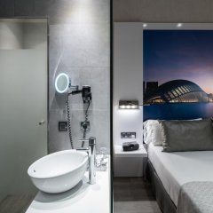 Отель Gran Via BCN 4* Стандартный номер с различными типами кроватей фото 6