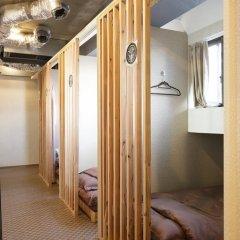 SAMURAIS HOSTEL Ikebukuro Кровать в общем номере с двухъярусной кроватью фото 8