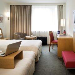 Отель Novotel Zurich City West 4* Стандартный номер с различными типами кроватей фото 3