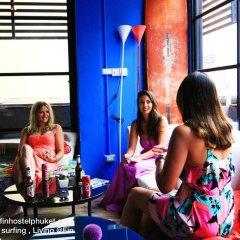FIN Hostel Phuket Kata Beach Улучшенный номер с двуспальной кроватью фото 3
