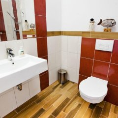 Отель Ach Mazury Stanica Mikolajki ванная