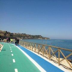 Отель Villa Vetiche Рокка-Сан-Джованни пляж