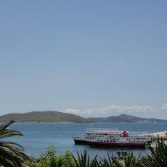 Отель Villa Margarit Албания, Саранда - отзывы, цены и фото номеров - забронировать отель Villa Margarit онлайн пляж фото 2