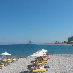 Отель Florida Hotel Греция, Родос - отзывы, цены и фото номеров - забронировать отель Florida Hotel онлайн пляж