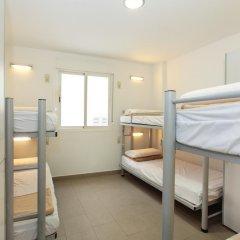 Center Valencia Youth Hostel Кровать в общем номере с двухъярусной кроватью фото 16