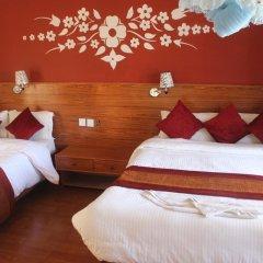Отель Chitwan Forest Resort Непал, Саураха - отзывы, цены и фото номеров - забронировать отель Chitwan Forest Resort онлайн комната для гостей фото 3