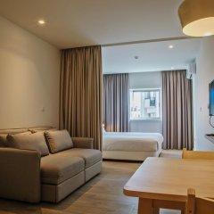 Hotel Spot Family Suites 4* Улучшенная студия разные типы кроватей фото 9