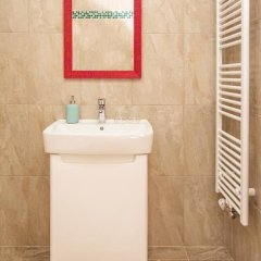 Отель EPIFANIE - apartments Чехия, Прага - отзывы, цены и фото номеров - забронировать отель EPIFANIE - apartments онлайн ванная