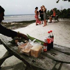 Отель Charming Holiday Lodge Мальдивы, Хулхудху (Атолл Адду) - отзывы, цены и фото номеров - забронировать отель Charming Holiday Lodge онлайн Хулхудху (Атолл Адду) пляж фото 2