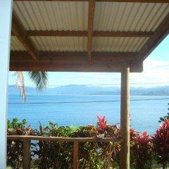 Отель Gecko Lodge Fiji Савусаву балкон