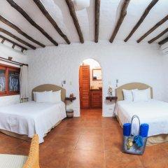 Отель Las Nubes de Holbox 3* Бунгало с различными типами кроватей фото 14