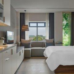 Отель Element Amsterdam Студия с двуспальной кроватью фото 6