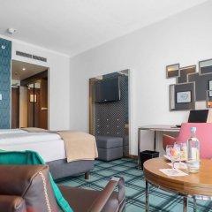 Radisson Blu Hotel, Hannover 4* Стандартный номер разные типы кроватей фото 2
