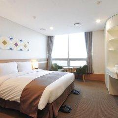 Tmark Hotel Myeongdong 3* Номер Делюкс с различными типами кроватей фото 10