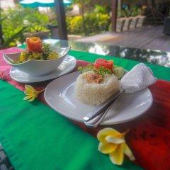Отель Balangan Sea View Bungalow питание