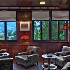 Отель The Alpina Gstaad Швейцария, Гштад - отзывы, цены и фото номеров - забронировать отель The Alpina Gstaad онлайн интерьер отеля фото 2
