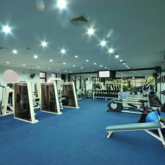 Отель Grand President Bangkok фитнесс-зал фото 3